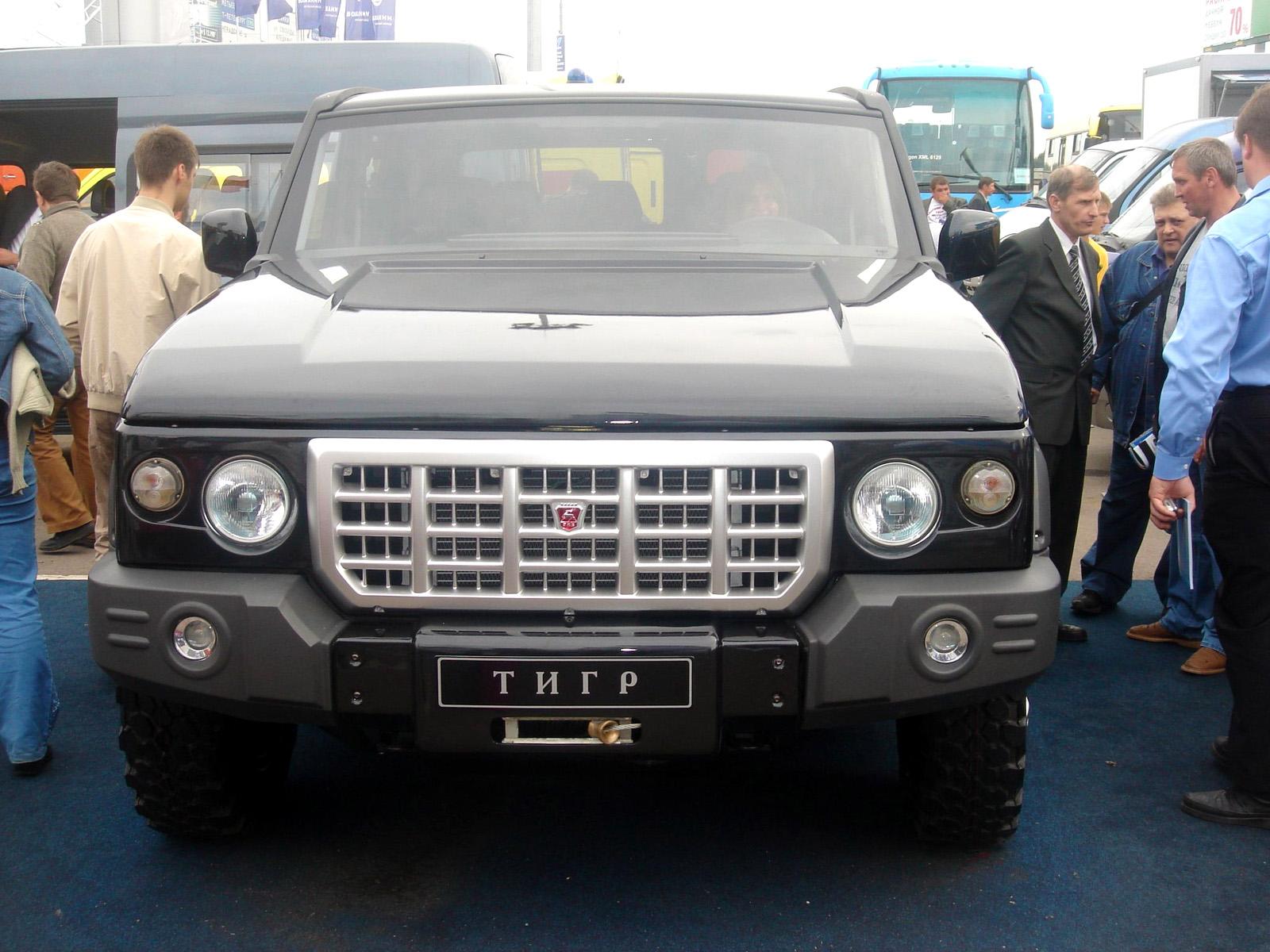 ГАЗ-3121 (Тигр-2)