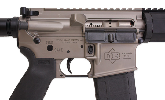 Пистолетная версия  DB15 от Diamondback Firearms