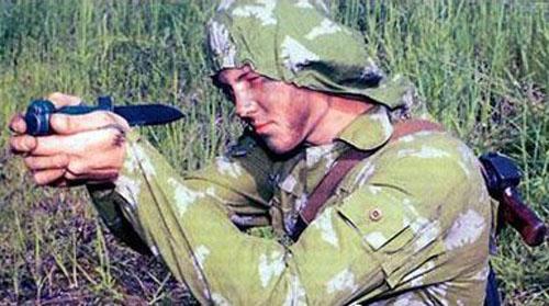 Нож разведчика специальный (НРС) «Стреляющий»  - фото