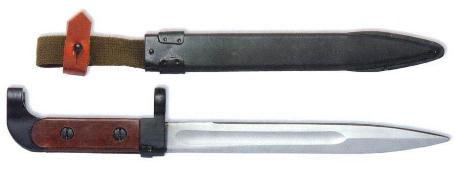 Штык к 7,62 мм автомату Калашникова образца 1949 года