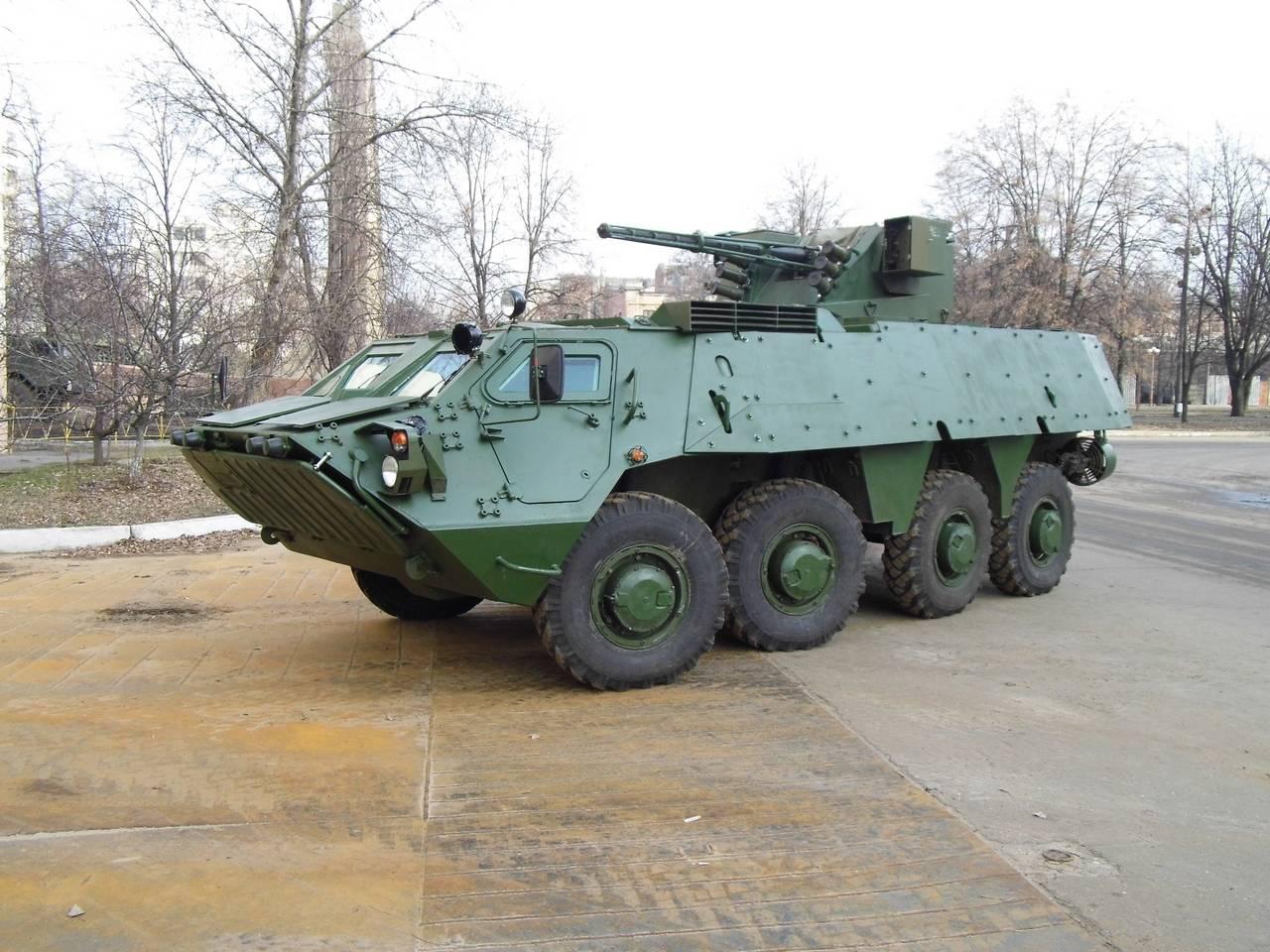 БТР-4 украинский бронетранспортёр