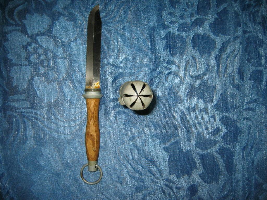 656180 Штатный водолазный нож с кольцом