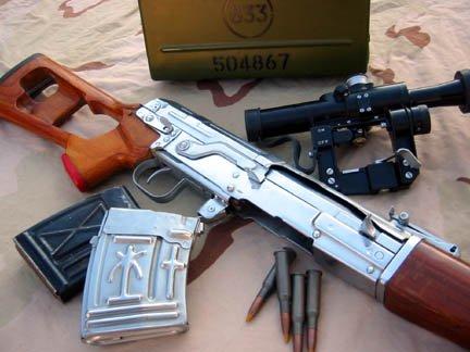 Снайперская винтовка СВД