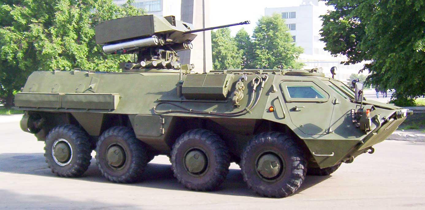 БТР-4 украинский бронетранспортер