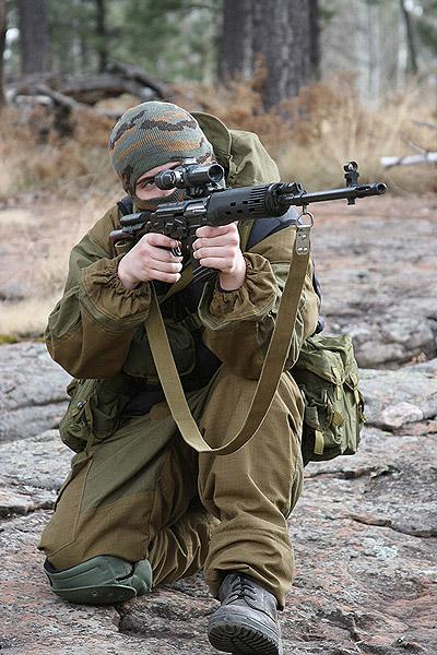 снайперская винтовка тигр (СВД)