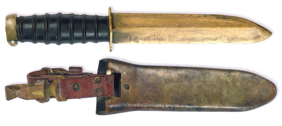 military divers knives nonmagnetic russ2 Штатный водолазный немагнитный нож