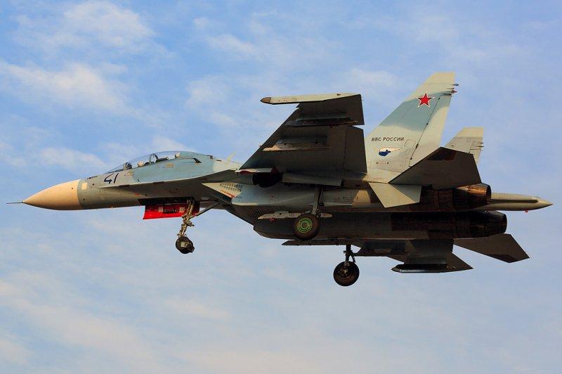 Свежие фото Су-30М2 и Су-30СМ