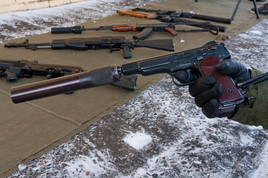 пистолет Стечкина АПС