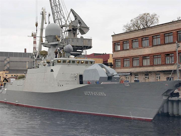 Новости: Малый ракетный корабль проекта 21631 «Буян-М» фото