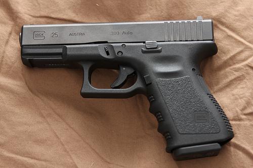 Фото пистолета Glock 25:
