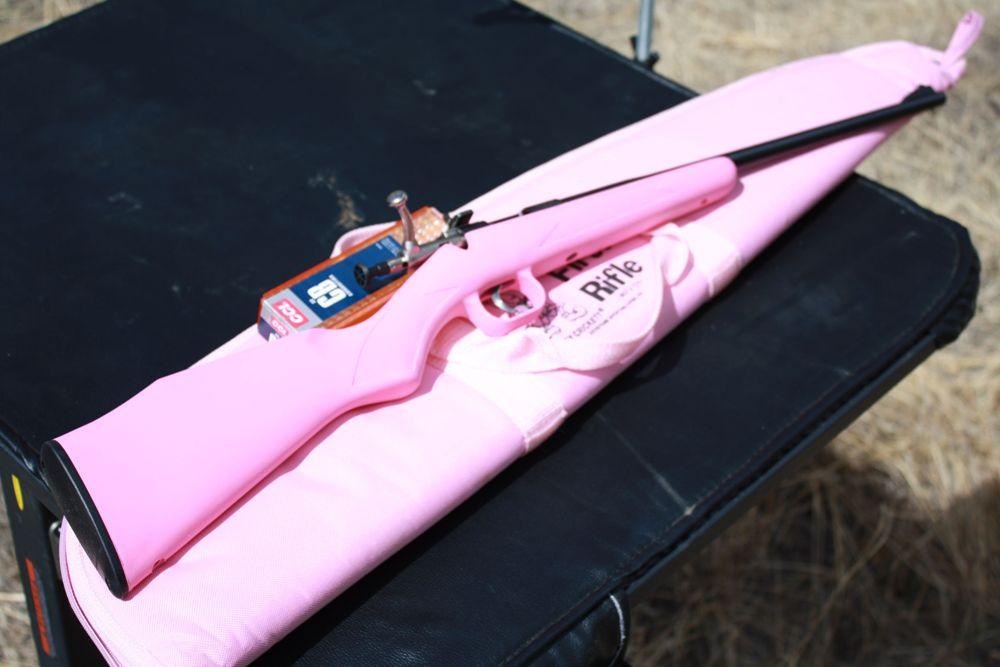 моя первая винтовка