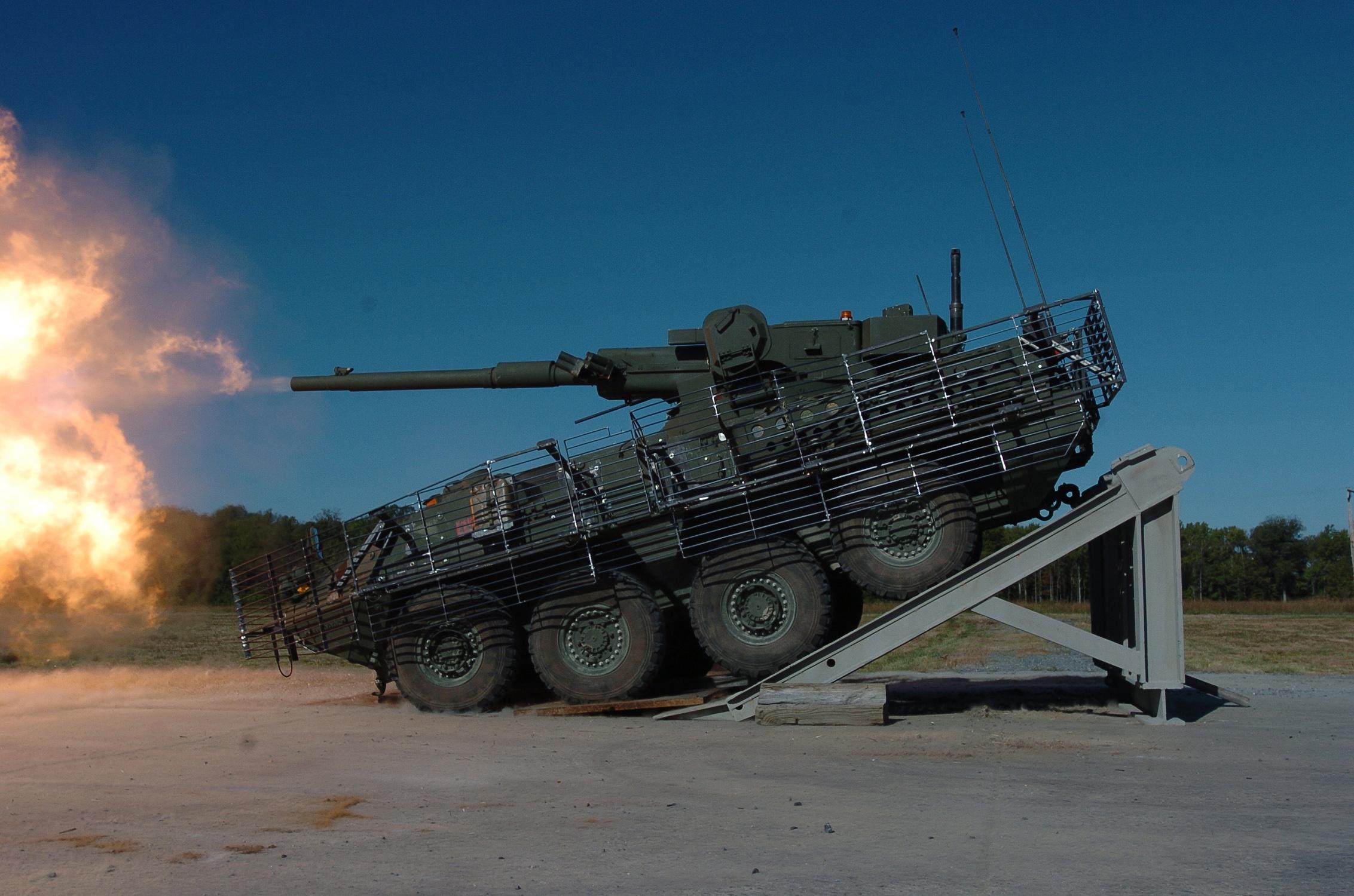 БТР Stryker