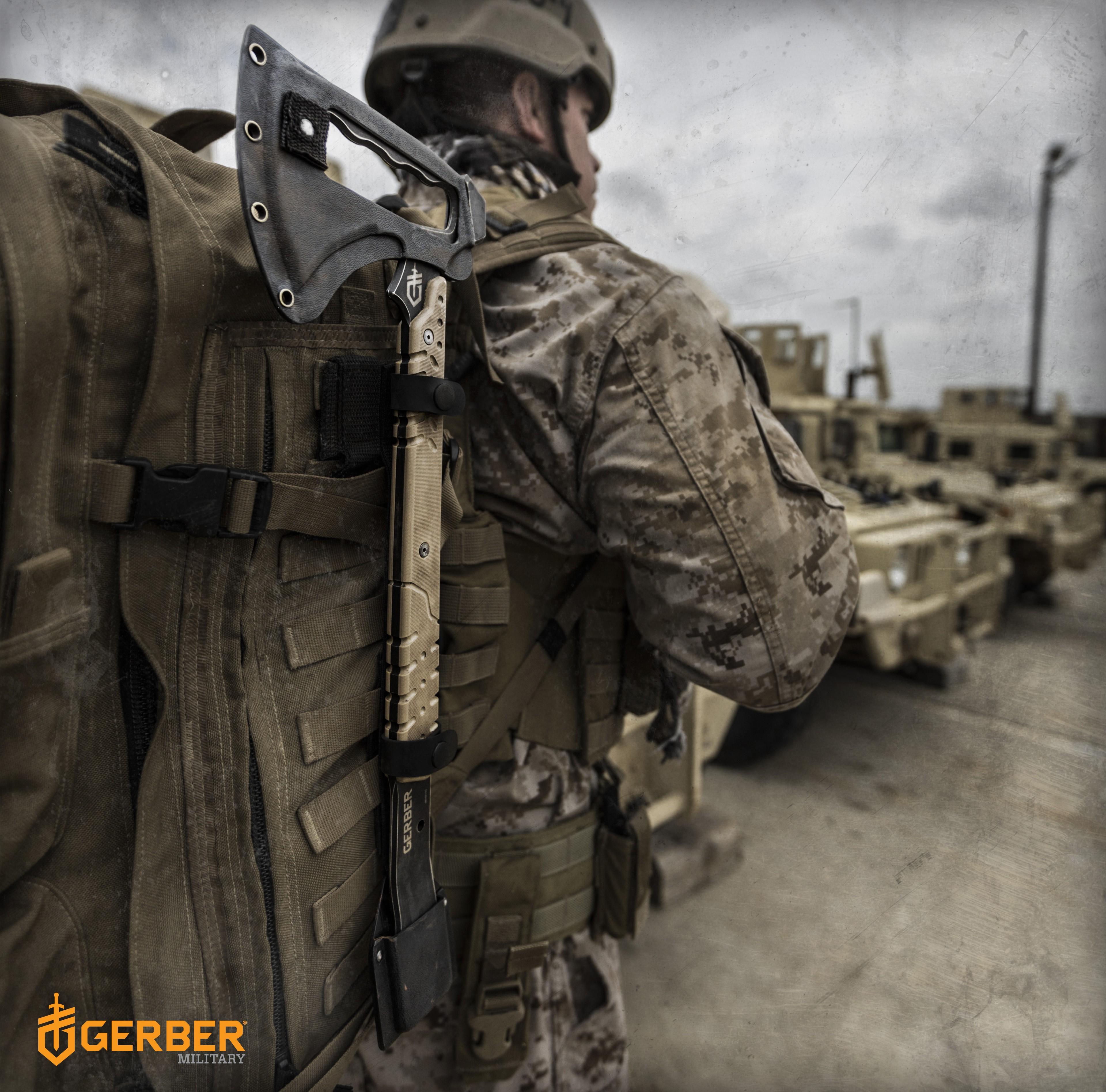 тактический томогавк Gerber Downrange Tomahawk