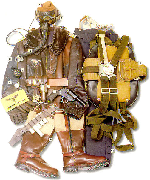 Luftwaffe Hauptmann's uniform