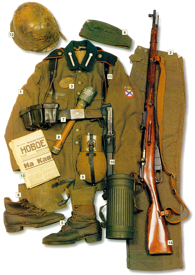 Uniform of Private ROA (Vlasov Army), 1942-45
