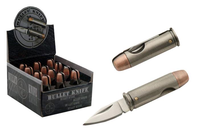 Необычные ножи под патрон Bullet Knife 44 magnum