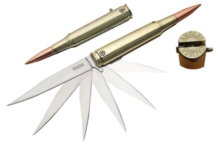 Необычные ножи под патрон Bullet Knife 50 Cal