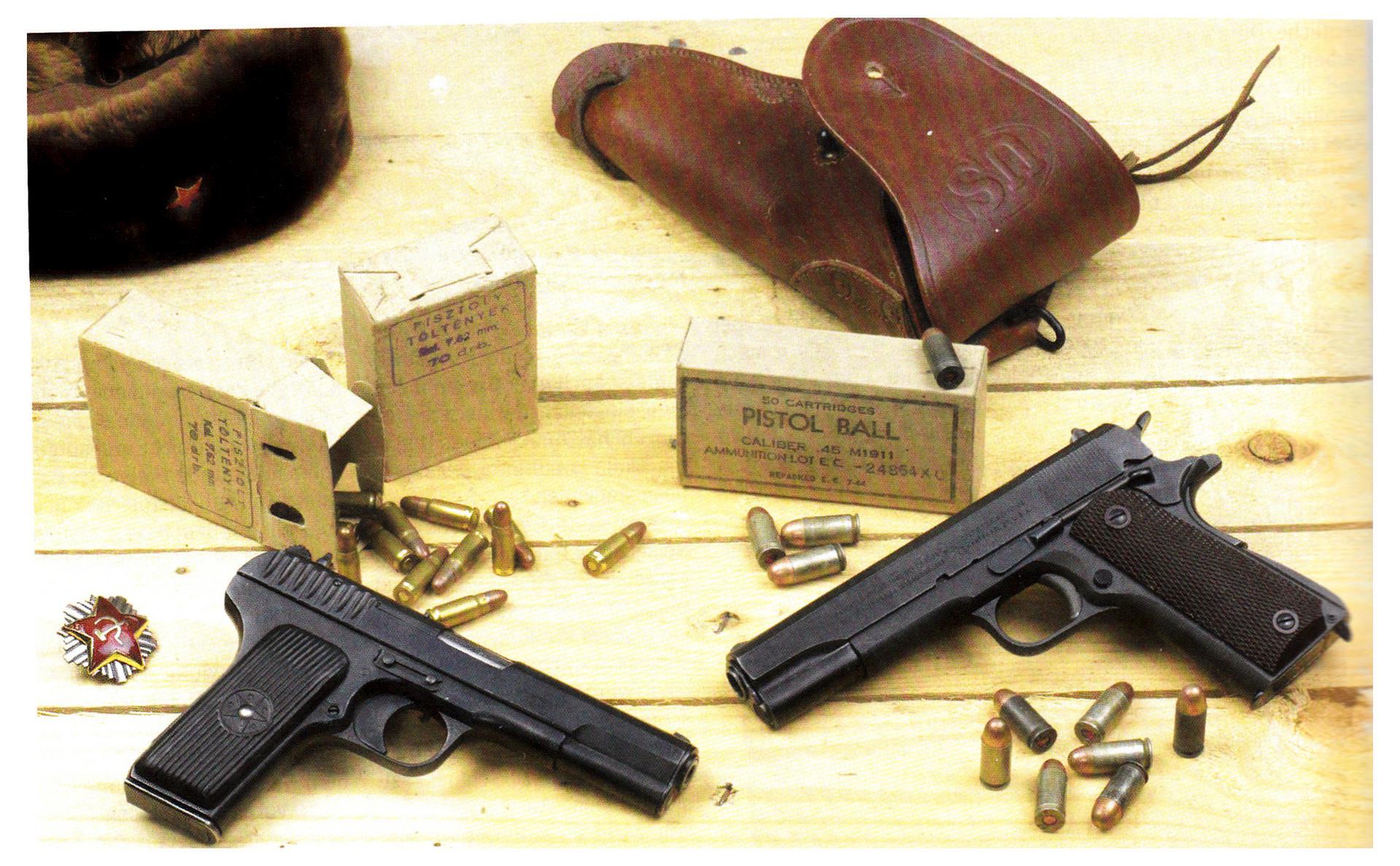 ТТ и Colt 1911