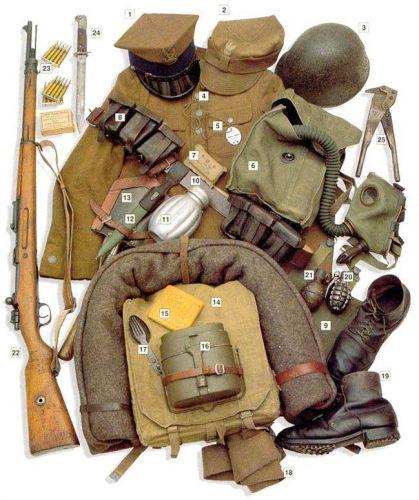 Форма польской пехоты