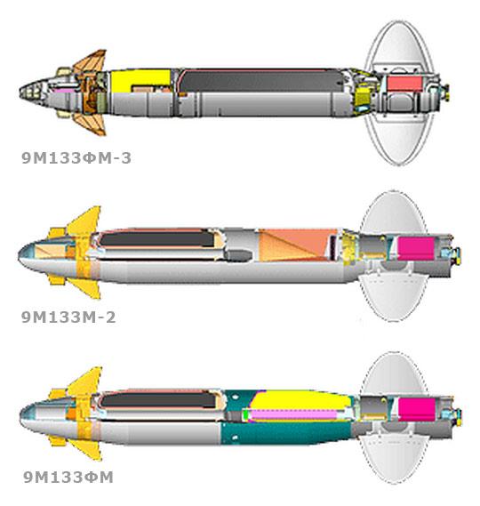9М133ФМ / 9М133М-2