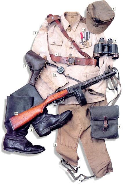 Форма польского офицера