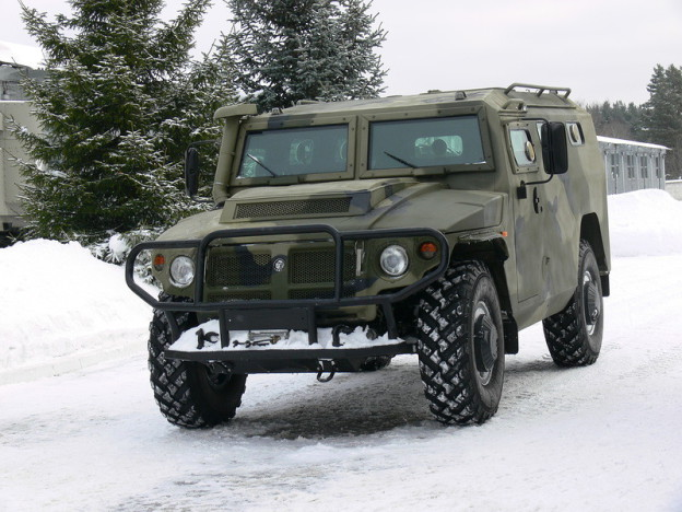 ГАЗ «Тигр» «проект 420»