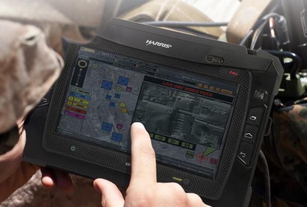 Ударопрочный планшет для военных и полиции Harris RF-3590