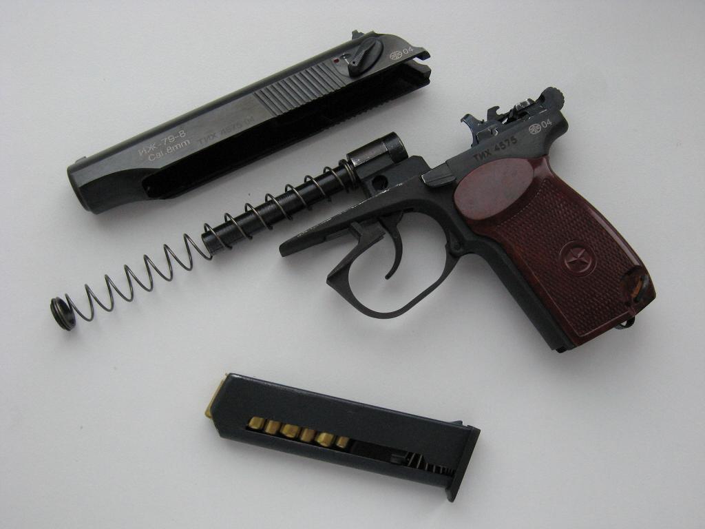 Газовый пистолет ИЖ-79-8