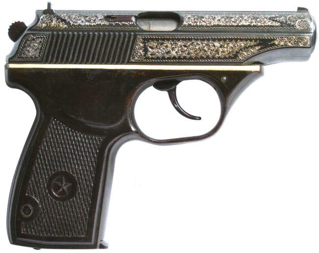 Опытный пистолет ТКБ-023 на базе ПМ