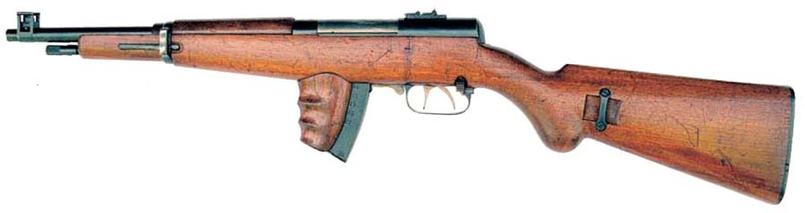 Пистолет пулемёт Токарева