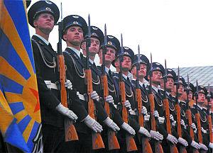 Карабины СКС — оружие роты почетного караула