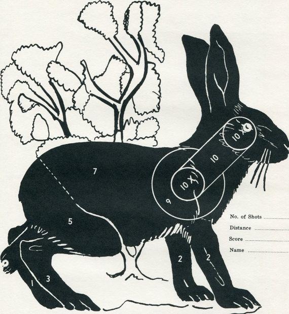 Мишень заяц
