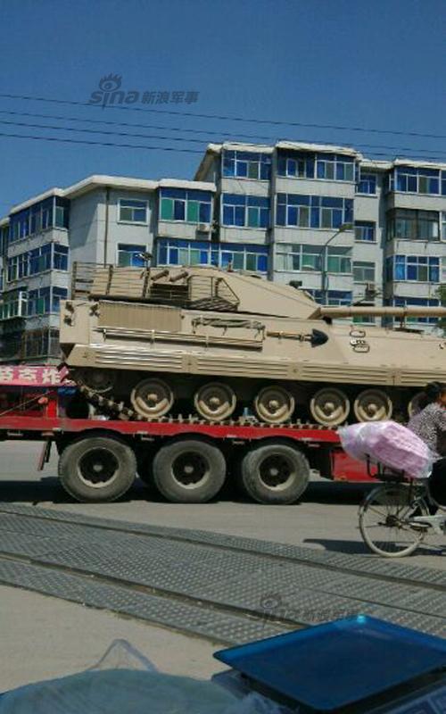 Новая боевая машина армии Китая - фото