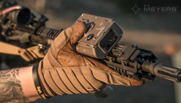 Ослепляющий лазер на винтовке