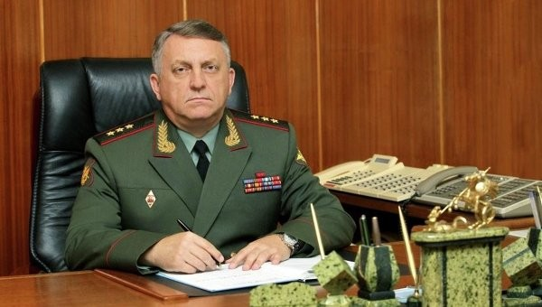 Генерал-полковник Сергей Каракаев