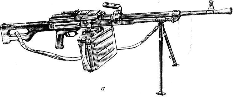 Пулемёт калашникова нарисованный
