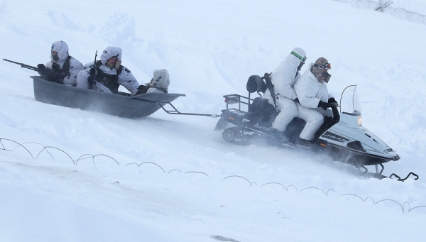 Армейские снегоходы «Снегоход А-1»