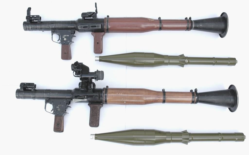 РПГ-7В с выстрелами (фото)