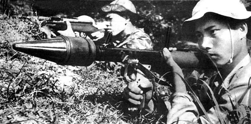 Стрельба из РПГ-7 фото (Вьетнам)