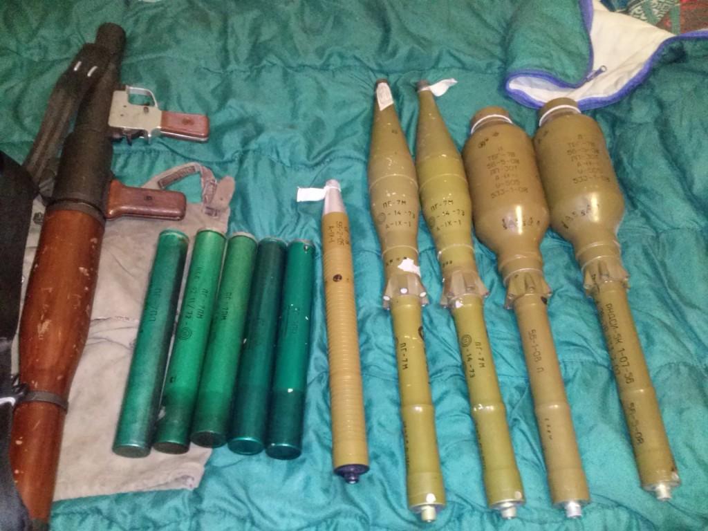 Выстрелы для РПГ-7 (фото)