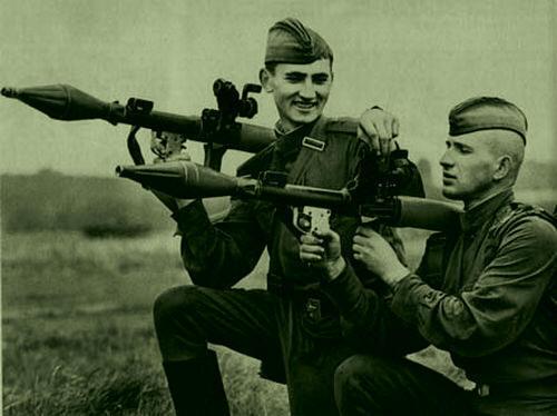 Учебные стрельбы из РПГ-7 с ПУС фото