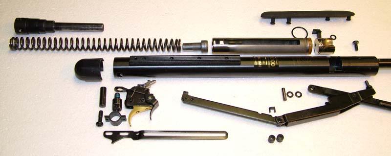 Пневматическая винтовка GAMO CF-X - фото взрыв схемы