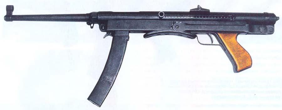 Пистолет-пулемёт Коровина - фото