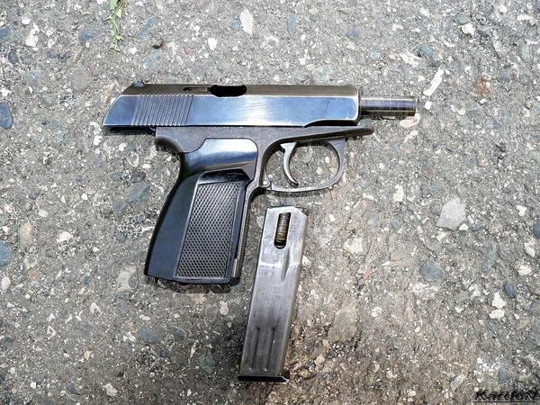 Пистолет ПММ фото