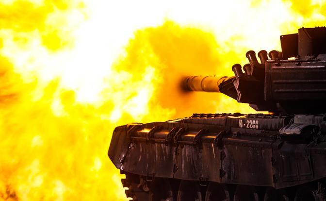 Российский основной боевой танк Т-72Б3 (фото)