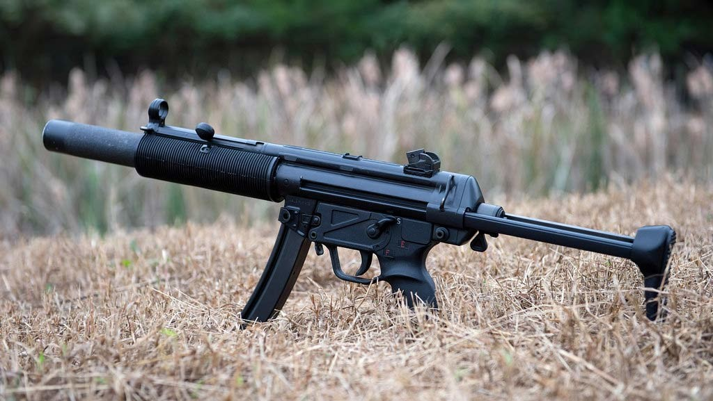 Heckler-Koch mp5 фото