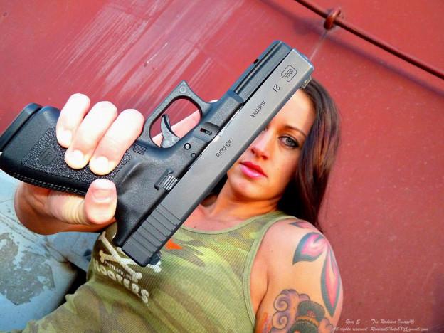 Пистолет Glock 21