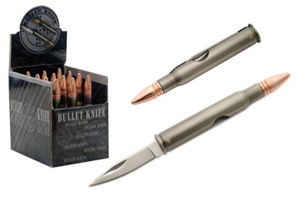 Необычные ножи под патрон Bullet Knife